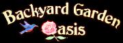 Backyard Garden Oasis Logo